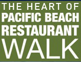 Pacific Beach home to Restaurant Walk