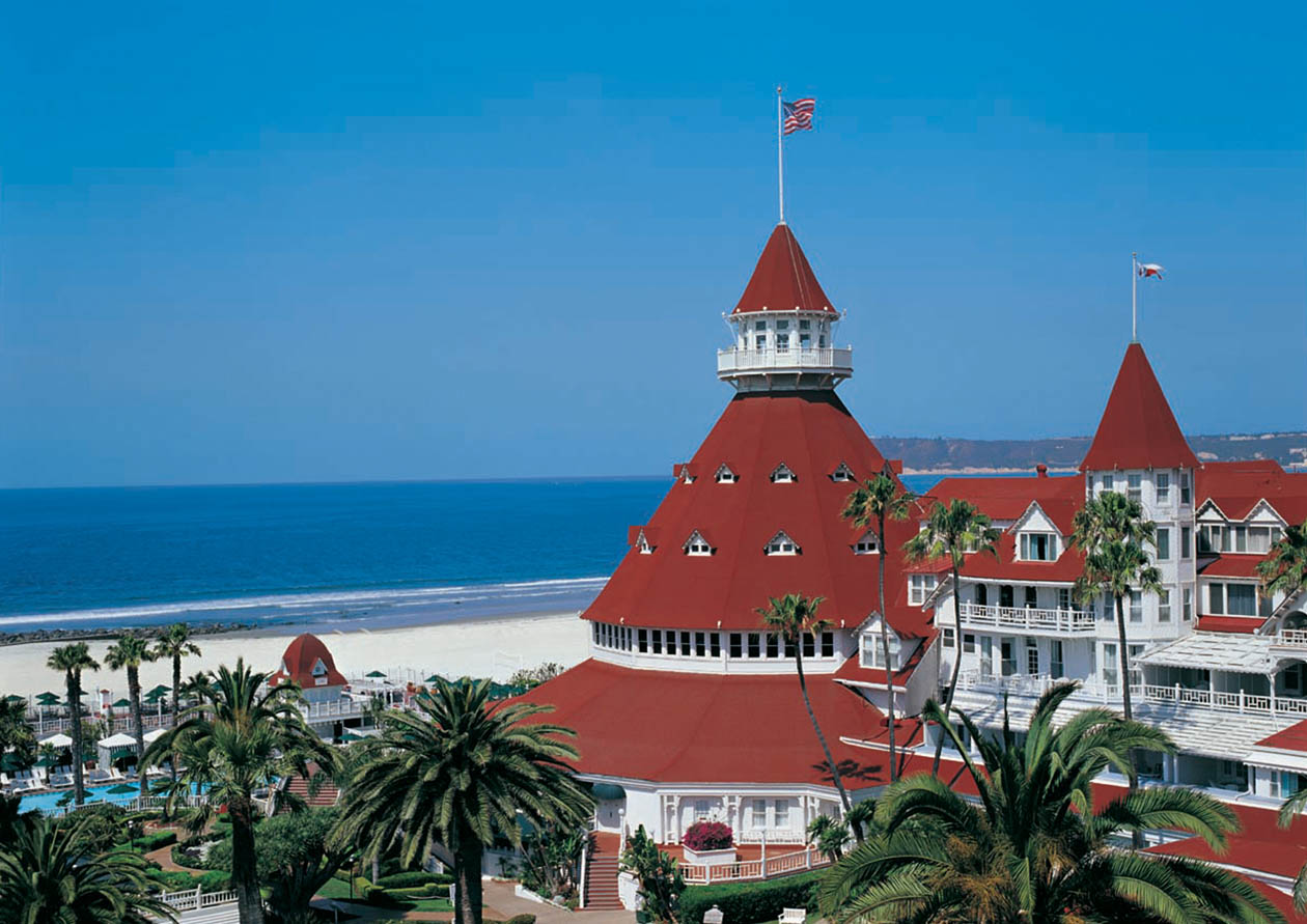Visit Hotel del Near Your Coronado home